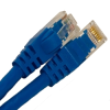 CAT6 550MHZ ETHERNET PATCH CORD BLUE 14 FT -- 26-261-168 -Image