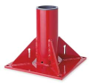 Mounting Base, Pedestal,Red -- 524