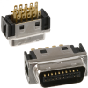 D-Shaped Connectors - Centronics -- H10063-ND