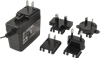 Wall Plug-In Multi Blade AC-DC Power Supply -- SMI24-48 - Image