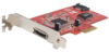 Startech 2 Port PCI-Express eSATA/SATA (1 Int + 1 Ext) Card -- PEXESATA2I