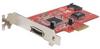 Startech 2 Port PCI-Express eSATA/SATA (1 Int + 1 Ext) Card -- PEXESATA2I