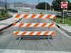 TD2650 Breakaway Type III Plastic & PSST Barricade -- TD2650 Breakaway Type III Plastic & PSST Barricade