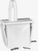 MICRO SWITCH DM Series Snap-in Panel Mount Switch, Single Pole Normally Closed (SPNC) Circuitry, 10 A at 277 Vac, Bullet Nose Plunger Actuator, Silver Contacts, Quick Connect Termination -- 1DM2 - Image