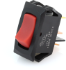 Littelfuse 54012 Compact Rocker Switch, SPST, On-Off, Red Actuator with Pilot Light -- 44298 -Image