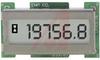 Hour Meter, LCD, chrome, 1.2W x .6H, 8-28 VDC, DC, 6 digit -- 70000910