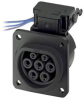 Power Entry Connectors - Inlets, Outlets, Modules -- 1409681-ND