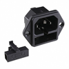 Power Entry Connectors - Inlets, Outlets, Modules -- Q203-ND -Image