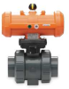 Ball Valve,Pneumatic,Fail Close,1 In -- 3GXJ6