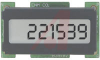 Counter, LCD, black, 1.2W x .6H, 8-28 VDC, DC, 6 digit, 100CPS -- 70000907