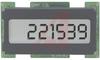 Counter, LCD, black, 1.2W x .6H, 8-28 VDC, DC, 6 digit, 100CPS -- 70000907