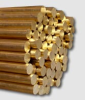 AMPCOLOY® High Alloyed Copper -- AMPCOLOY® 972 Extruded Rounds - Image