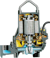 Grinder pump from Flygt, a Xylem brand