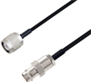 BNC Female to TNC Male Cable Assembly using LC085TBJ Coax, 5 FT -- LCCA30657-FT5 -Image