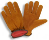 Cow Split Leather Drivers Insulated Gloves (1 Dozen) -- 7910