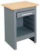 Tool Stand,HD,1 Drwr,26Wx34Hx20L,Gray -- TS261XGW