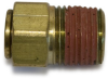 Hydraulic Adapters: Flareless Metric Tube Adapters -- View Larger Image