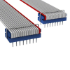 Rectangular Cable Assemblies -- C6RRS-1636G-ND -Image