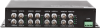 16-Channel Fiber Optic Video Multiplexer 1-Channel Bi-Directional Data -- FVTM/FVRMHA0xA
