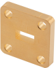 WR-28 Waveguide Shim with 3mm Copper UG-Cover Square Flange -- FMW28FS3 -Image