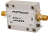 16 dBm P1dB, 100 MHz to 3 GHz, Gain Block Amplifier, 18 dB Gain, 6 dB NF, SMA -- PE1516 -Image
