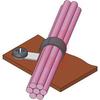 Clamp; Soft Steel; Screw; 0.177 in.; 0.52 in.; PVC; 2.13 in.; 0.19 in. -- 70208698 - Image