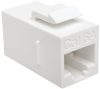 Cat6a Straight-Through Modular In-Line Snap-In Coupler (RJ45 F/F) -- BHDBT-001-FF
