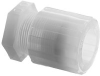 Parker Pargrip GTPG-4 PFA Tube Fitting, Gripper Plug, 1/… -- GTPG-4