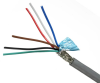 Quabbin Multiconductor RS-232, AWM 2464 – 22 AWG, 10 Conductor, Shielded, PVC -- 7635 - Image