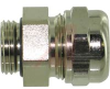 Cable Gland; Nickel-Plated Brass;6.5 - 9.5mm;3.5 - 8.5mm; PG 9;20mm -- 70025274