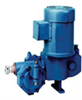 Hydraulically Actuated Diaphragm Pump, 316 SS and PTFE Wetted End, 65GPH @ 175PSI -- EW-74151-50