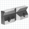 Standard Jaws for High Precision Power Vises -- V Jaws