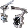 Stainless Steel Butterfly Valve -- 650/651 -- View Larger Image