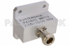 Waveguide End Launch To N Female; Frequency Range 7.05-10.00 GHz -- PE9870 - Image