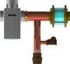 The Brain Series Mixing Valve -- DRV80R -- View Larger Image