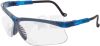 Uvex Genesis Safety Glasses with Vapor Blue Frame and Clear -- S3240