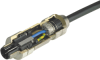 Series 825 M12 Connector For Ethernet -- Female Receptacle, Front-mounted, PG9