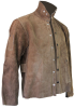 Chicago Protective Apparel Brown Large Leather Welding & Heat-Resistant Jacket - 30 in Length - 600-CL LG -- 600-CL LG - Image