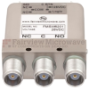 SPDT Failsafe DC to 10 GHz Electro-Mechanical Relay Switch, Indicators, TTL, Diodes, 50W, 28V, TNC -- FMSW6201 - Image