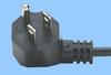 North American Power Cord w/Angled NEMA 5-15 Plug -- 86460015 -Image