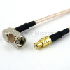RA SMA Male to MCX Plug Cable RG316 Coax in 120 Inch -- FMC0407316-120 -Image
