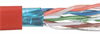 Category 5E F/UTP PVC Patch 26 AWG 4-Pair Stranded Conductor Red, 1KFT -- TFC2006 -- View Larger Image