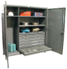 """72"""" Wide Drawer/Cabinet -- 66-W-244-6DB-DI -- View Larger Image"""