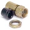 F Plug Sealed RG6 Quad Connector & Backnut -- 10-16043-224