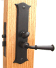 Screen Door Latch, Mortise Type with Deadbolt -- 838762