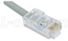 Cat. 5E 10Base-T Crossover Cable, RJ45 / RJ45, 25.0 ft -- TRD450CR-25