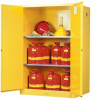 Justrite Flammable Safety Cabinet -- CAB415
