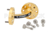 WR-10 Instrumentation Grade Waveguide H-Bend with UG-387/U-Mod Flange Operating from 75 GHz to 110 GHz -- PE-W10B002 - Image