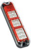 2in x 7in Rectangular LED Stop, Tail, Turn & Backup Light -- Model 280