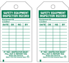 Safety Equipment Tags -- 86557